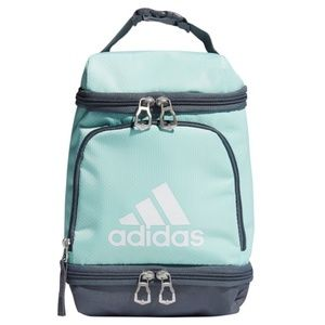 New Adidas Insulated Lunch Bag Light Green & Gray
